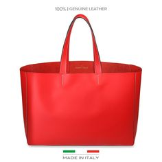 Made in Italia Romina Leather Tote