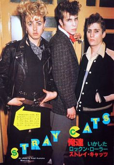 ♫'''STRAY CATS: Japanese Cutting...☺...'''♫ http://www.cafr.ebay.ca/itm/STRAY-CATS-Japanese-Cutting-/151439134045?pt=LH_DefaultDomain_0&hash=item234279cd5d