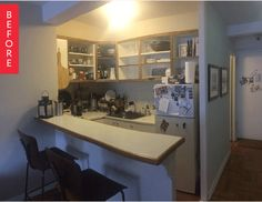 Before & After: Smart Choices for a Small Kitchen — Sweeten