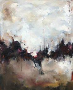 "Saatchi Art Artist Nicholas Kriefall; Painting, ""Frontier"" #art"