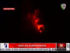 Vuelos Suspendidos Por El La Erupción Del Volcan En Chile #Video