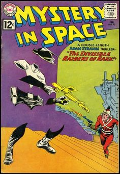 Mystery In Space #73 DC Comics
