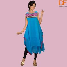 Uniqueness is what we specialise in! We have pretty #kurtis for all the beautiful ladies.