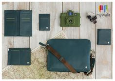 NEW! Our men's collection, Panama. Featuring wallets, bags and accessories in 3 great winter colours - rich teal, earthy brown and classic black.
