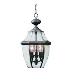 Found it at Wayfair - Newbury 3 Light Outdoor Hanging Lantern