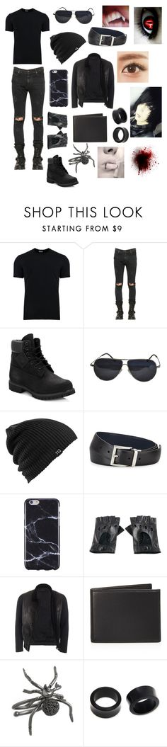 """Alexander Sterling"" by sinkamisama ❤ liked on Polyvore featuring Dolce&Gabbana, RtA, Timberland, BMW, Burton, Prada, FingerPrint Jewellry, Black, Gucci and The Men's Store"