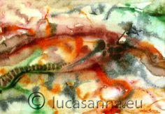 Caos  Acquerello su carta 1994  ©Luca Sanna