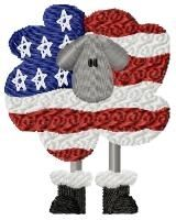 American Ewe - 4x4 | Primitive | Machine Embroidery Designs | SWAKembroidery.com HeartStrings Embroidery
