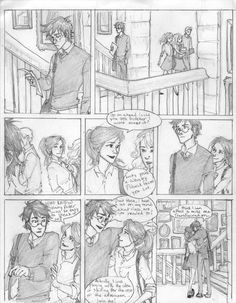 """""""the plan was... is that the reader, like Harry, would gradually discover Ginny as pretty much the ideal girl for Harry. She's tough, not in an unpleasant way, but she's gutsy. He needs to be with someone who can stand the demands of being with Harry Potter, because he's a scary boyfriend in a lot of ways. He's a marked man. I think she's funny, and I think that she's very warm and compassionate. These are all things that Harry requires in his ideal woman."""" - Rowling"""