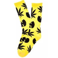RARE WuTang Clan HUF Plant Life Unisex Socks LIMITED EDITION. Unisex WuTang Clan X HUF plant life socks. These are yellow and black. Alternating pattern between the WuTang symbol & HUF plant life symbol. One size fits most. Worn once to do a photoshoot! No sweat marks inside/or signs of wear. They look and practically are brand new. HUF Accessories Hosiery & Socks