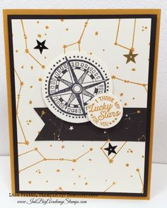Sneak Peek Stampin'Up! Occasions Catalog, Going Global Stamp Set, Going Places Designer Series Paper, stars, valentine, diy, handstamped, greeting card, masculine
