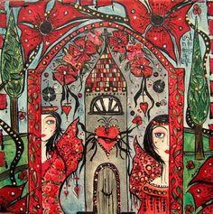 Sandra Jane Suleski painting