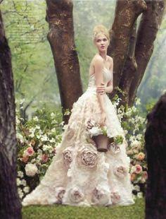 rose wedding dress - Google Search