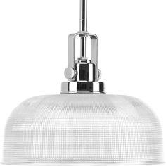 "Progress Lighting P5026 Archie 1 Light 10"" Tall Polished Chrome Indoor Lighting Pendants"