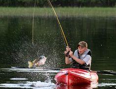 Kayak Fishing Evolved   #kayaking #kayak   #outdoors   #canoeing   #boating  #fishing   #adventure #bassfishing   #holiday  #river http://ilovekayaking.tumblr.com/