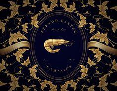 Pernod Golden Illustrations.