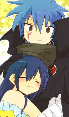 I found the Jellal/Wendy story so adorable and touching! Really! They really do have an amazing brotherly/sisterly-ish relationship! I just love it!