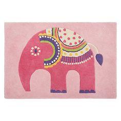 Buy little home at John Lewis Abbey Elephant Rug Online at johnlewis.com