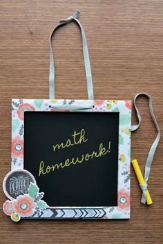 Need DIY ideas for scrapbooking, cardmaking, or paper crafts? Find tutorials & project inspiration to help you celebrate and document your life! Paper Crafts, Diy Crafts, Diy Chalkboard, We R Memory Keepers, Project Yourself, Homemade Gifts, Cardmaking, Kids Room, Diy Projects