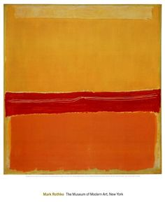 Number 5 (Number 22) Art Print by Mark Rothko