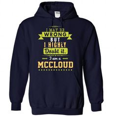 Mccloud - #tshirt blanket #tshirt yarn. ORDER HERE => https://www.sunfrog.com/No-Category/Mccloud-1719-NavyBlue-29864800-Hoodie.html?68278