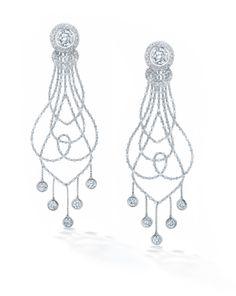 Forevermark Chandelier earrings.