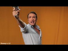 Jean Dujardin's Villain Auditions - Outtakes: omg this make the villain thing even funnier!