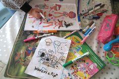 Creativiteit is zo fascinerend aan kinderen! Tekenen, kleurplaten en kleuren, mijn peuter vindt het geweldig om creatief bezig te zijn! Ik deel je een hele handige mama TIP
