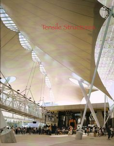 Tensile Structures...potential roof?