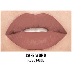 Smashbox Be Legendary Cream Lipstick, Safe Word Matte 1 ea (27 CAD) ❤ liked on Polyvore featuring beauty products, makeup, lip makeup, lipstick, smashbox lipstick and smashbox