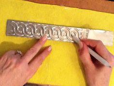 trabajando con aluminio...