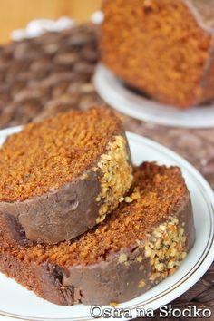 babka karmelowa , babka toffi , ciasto karmelowe , krowka , piernik , ciasto czekoladowe , latwe ciasto , tanie ciasto , ostra na slodko 4xxx