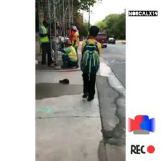 SUPERBOWL PRE PARTY. . . CONSTRUCTION WORKERS CATCHES A YOUNG MAN BREAKING INTO PEOPLES CAR & TIE HIM UP LIKE SPIDER MAN. . . #BRUNOMARS #EAGLES #RIHANNA