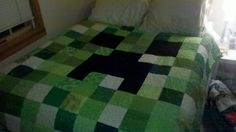 I could make that!! A Creeper quilt