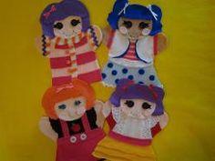 La La Loopsy Felt hand puppets