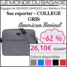 #missbonreduction; 62 % de remise sur le Sac reporter - COLLEGE GRIS chez Le Monde du Bagage.http://www.miss-bon-reduction.fr//details-bon-reduction-Le-Monde-du-Bagage-i855311-c1830300.html
