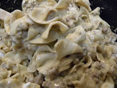 Homemade Beef Stroganoff - Better Than the Boxed Stuff! www.magnificentmrsmorales.blogspot.com