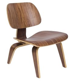 Molded Plywood Lounge Chair --- By  Eames