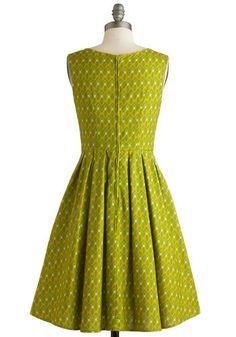 Rock and Bowl Dress, #ModCloth