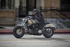 Make a statement before you even arrive. | 2014 Harley-Davidson Fat Bob