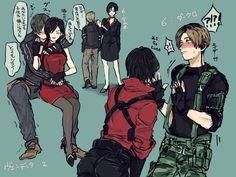 Ada Resident Evil, Tyrant Resident Evil, Resident Evil Anime, Leon S Kennedy, Horror Video Games, Evil World, Scary Art, Epic Art, Detroit Become Human