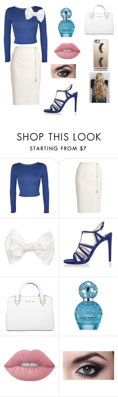 """""""Elsa (classy/casual)"""" by hannah6-6-02 ❤ liked on Polyvore featuring WearAll, MaxMara, Prada, Michael Kors, Marc Jacobs, Lime Crime and Casetify"""