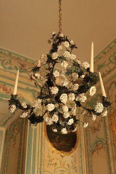 Flower Chandelier, Versaille