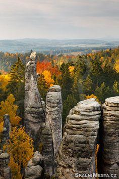 Sandstone rock Czech republic