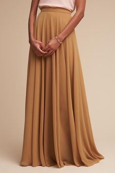 Goldenrod Hampton Skirt   BHLDN