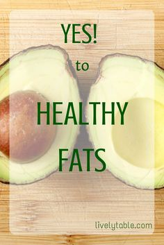 Which fats are healthy, why you need them, and delicious healthy recipes that use healthy fats! What Is Healthy Food, Healthy Fats, How To Stay Healthy, Health Tips, Health And Wellness, Health Foods, Healthy Options, Healthy Recipes, Drink Recipes