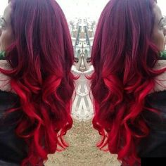 Beautiful hair color