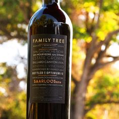 2013 Saarloos & Sons Ballard Canyon Family Tree Windmill Vineyard Saarloos, Santa Barbara County, Windmill, Wine Recipes, Wines, Vineyard, Bottle, Food, Flask