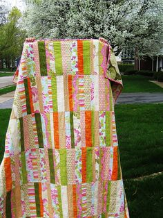 Val's Girlie Urban Amish Quilt | Flickr - Photo Sharing!