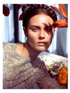visual optimism; fashion editorials, shows, campaigns & more!: é alta moda: monika jagaciak by camilla akrans for vogue italia september 2013